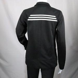 Adidas Black White Track Jacket Size M